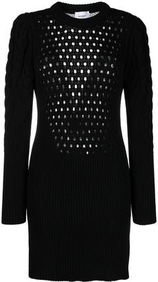 Dondup Cable Knit Mini Dress