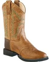 Old West Round Toe Comfort Wear Cowboy Boot - Child (Children's)