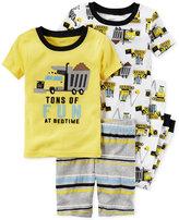 Carter's 4-Pc. Tons of Fun Pajama Set, Toddler Boys (2T-5T)