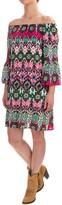 Wrangler Rock 47 Printed Dress - Fully Lined, 3/4 Sleeve (For Women)
