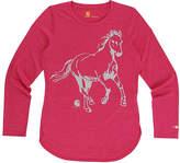 Carhartt Pink Peacock Horse Force® Hi-Low Tee - Girls