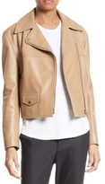 Helmut Lang Women's Lambskin Leather Biker Jacket