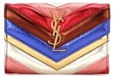 Saint Laurent Leder-portemonnaie Classic Monogram