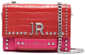 John Richmond Tenziale two-tone shoulder bag