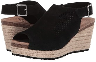 Aetrex Sherry (Black) Women's Wedge Shoes