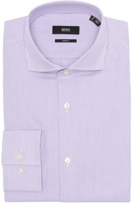 HUGO BOSS Micro Print Dress Shirt