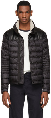 Moncler Black Down Vasserot Jacket