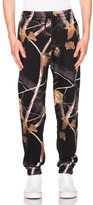 Alexander Wang Winter Camo Sweatpants in Abstract,Black,Brown.