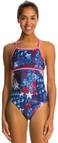 Illusions Activewear Betsy American Monokini One Piece Swimsuit 7533247
