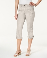 Style&Co. Style & Co Style & Co Petite Coin-Pocket Capri Pants, Created for Macy's