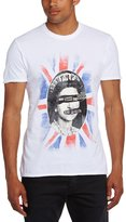 Amplified Mens White Sex Pistols God Save The Queen T Shirt from