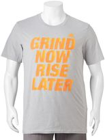 """adidas Big & Tall Grind Now Rise Later"""" climalite Tee"""
