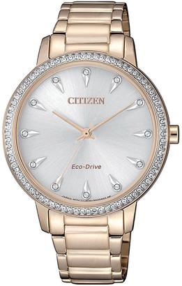 Citizen FE7043-55A Dress Rose Gold