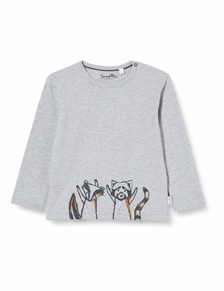Sanetta Boys Grey Mel. Baby and Toddler T-Shirt Set 18-24 Months