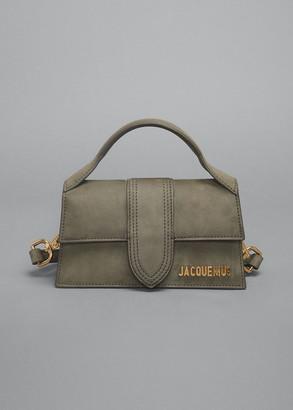 Jacquemus Le Bambino Suede Top Handle Bag