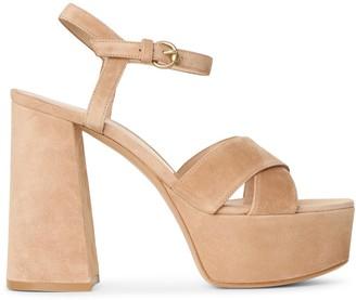 Gianvito Rossi Bebe platform suede sandals