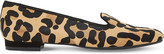 Dune Gracious leopard-print loafers