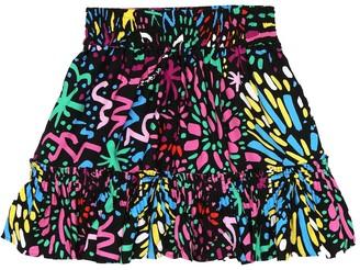 Stella McCartney Kids Fireworks printed skirt