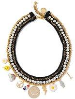 Venessa Arizaga Women's Glowing Garden Necklace of Length 49.53cm