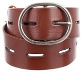 Linea Pelle Leather Buckle Belt