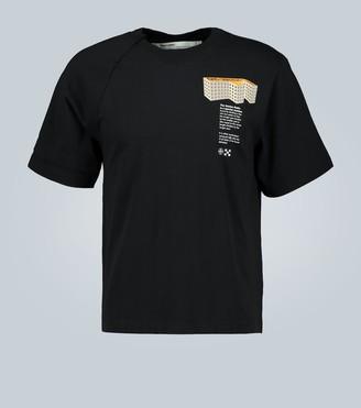 Off-White F Building short-sleeved T-shirt