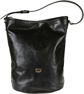 Gucci Classic Leather Hobo Bag