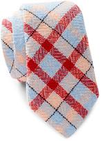 Alexander Olch Narrow Plaid Tie