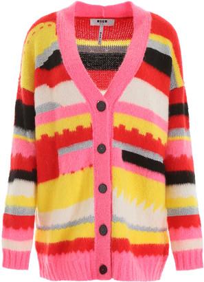 MSGM Multicolor Cardigan