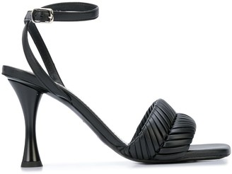 Proenza Schouler Braided Ankle Strap Sandals