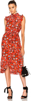 Erdem Sebla Convertine Crepe De Chine Dress