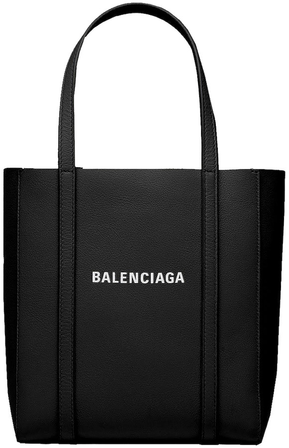 Balenciaga XXS Everyday Tote Bag in Black & White | FWRD