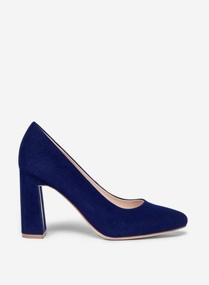 Dorothy Perkins Womens Wide Fit Navy 'Diana' Court Shoes