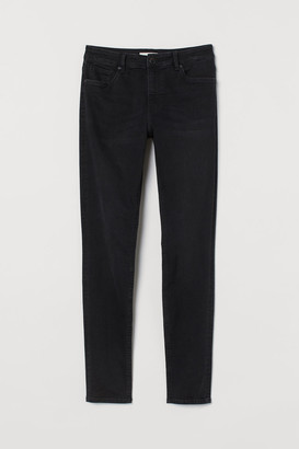H&M Skinny Regular Jeans - Gray