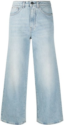 Totême High-Waisted Wide Leg Jeans