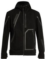 Y-3 Sport Seamless hooded wool-blend performance jacket