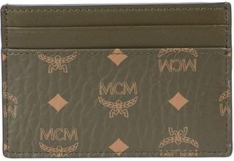 MCM Visetos Original Card Case Mini (Black) Bags