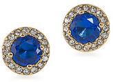 Lauren Ralph Lauren Lauren Treasure Trove Blue and 12K Gold-Plated Stud Pierced Earrings