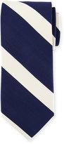 Peter Millar Striped Silk Tie, Newport