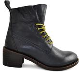 Gee WaWa Dark Navy Jacee Leather Boot