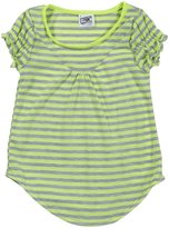 Erge Paris Jersey Top (Toddler/Kid) - Neon Lime-6X