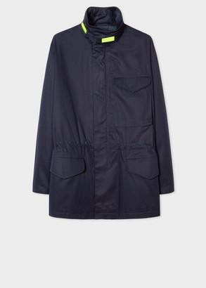 Paul Smith Women's Navy Cotton Field Jacket