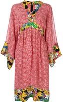 Duro Olowu Vintage 2000 floral print tunic dress