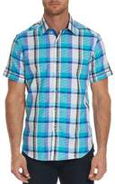 Robert Graham Filmore Short Sleeve Classic Fit Print Woven Shirt