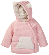 Jessica Simpson Faux Shearling Ear Jacket (Baby Girls)