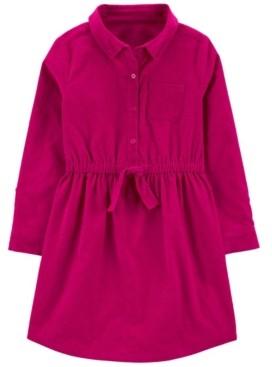 Carter's Little Girl Corduroy Shirt Dress