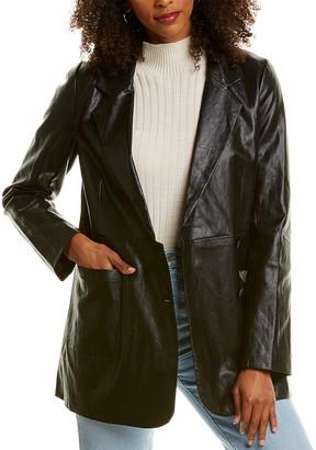 Line & Dot River Vegan Leather Jacket