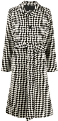 Ami Belted Five Button Coat