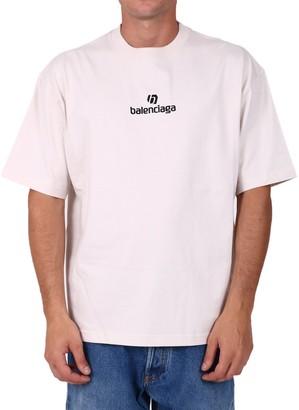 Balenciaga Sponsor Print T-Shirt