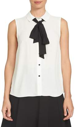 Cynthia Steffe CeCe by Bow Tie Blouse