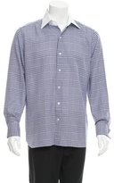 Tom Ford Houndstooth Button-Up Shirt